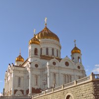 Храм Христа Спасителя. :: Анастасия Прибыткова