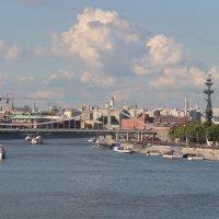 Вид с Фрунзенского моста. :: Анастасия Прибыткова