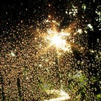 капли дождя на стекле :: КАТЕРИНА ЖДАНОВИЧ