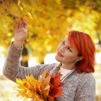 Золотая осенью Автопортрет :: Фотохудожник Наталья Смирнова