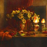 ...с ароматом осенних цветов... :: Валентина Колова