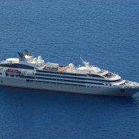 Голубые сны Санторини... :: Надя Кушнир