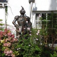 Рыцарь в саду! :: Natalia Harries