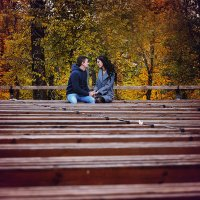 Осенняя Love Story :: Валерий Гришин