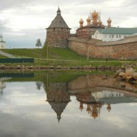 Белые ночи у стен монастыря :: Волкова Наталия