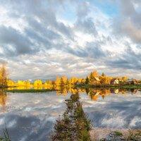Закатное солнце :: Борис Устюжанин
