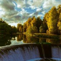 река и водопад в с.Ярополец :: jenia77 Миронюк Женя