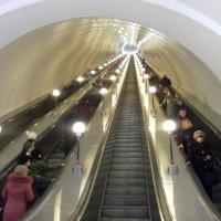 В метро :: Агриппина