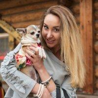 Дама с собачкой :: Борис Гольдберг