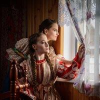 Марина и Виолетта :: Олег Каразанов