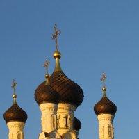 Осеннее сияние куполов... :: Tatiana Markova