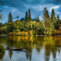 Осенний пейзаж :: Michael Averkiev