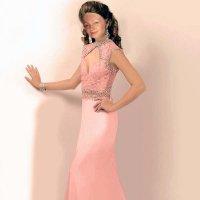 девушка в платье :: Ангелина Ангельская