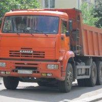 КамАЗ оранжевый трёхосный :: Дмитрий Никитин