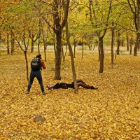 На осенней фотосессии :: Андрей K.