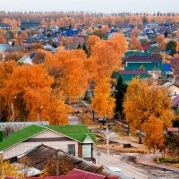 Осень золотая! :: Михаил Гажур