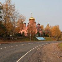 Храм Илии Пророка в Изварино (Новая Москва) :: ninell nikitina