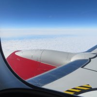 Под крылом самолета... :: ВАЛЕНТИНА ИВАНОВА