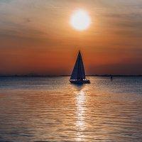 На закате. Венеция. :: Елизавета Вавилова