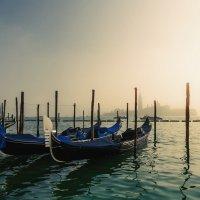 Туманное утро в Венеции... :: Александр Вивчарик