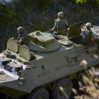 Будни гражданской войны. Украина. :: isanit Sergey Breus