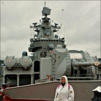 Девушка и ракетный крейсер :: Кай-8 (Ярослав) Забелин