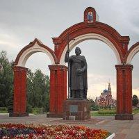 Памятник князю Владимиру. Новочебоксарск :: MILAV V