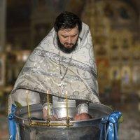 Крещение младенца :: Василий Аникеев