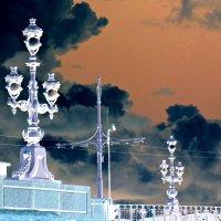 Фрагмент Троицкого моста. :: Марина Харченкова