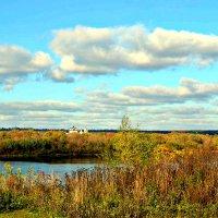 У реки Оки в октябре. :: Михаил Столяров