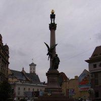 Памятник   Адаму   Мицкевичу   в   Львове :: Андрей  Васильевич Коляскин