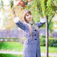 Осенняя фотопрогулка с Ириной :: Viktoria Shakula