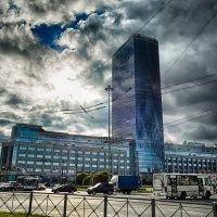 Питер башня Ленэнерго :: Юрий Плеханов