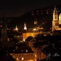 Night Prague :: Алёна Архангелова