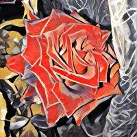 Осенняя роза :: Ольга Голубева