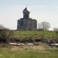 Церковь Спаса Преображения на  Нередице :: Елена Павлова (Смолова)