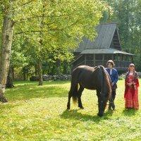 Конный праздник в Витославлицах (этюд 5) :: Константин Жирнов