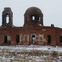 На руинах души, или Что знаменует собой гибнущая Знаменская церковь? :: Елена Павлова (Смолова)