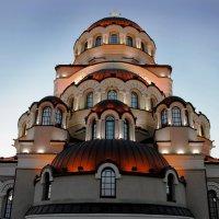 Храм Нерукотворного Образа Христа Спасителя в Олимпийской Деревне г. Сочи :: Светлана Кажинская