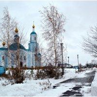 Храм в Одесском районе. Омской области :: Алёна PRIVALOVA