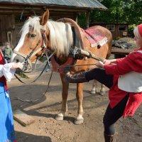 Конный праздник в Витославлицах (этюд 7) :: Константин Жирнов