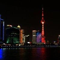 Ночной Шанхай :: Андрей + Ирина Степановы