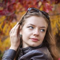 Осенний портрет :: Darina Mozhelskaia