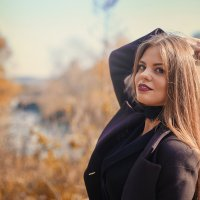 Осенняя улыбка :: Darina Mozhelskaia