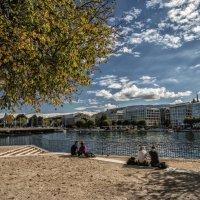 autumn in Geneva :: Dmitry Ozersky