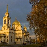 Новотихвинский женский монастырь (фото с теневым освещением) :: Наталья Чистополова