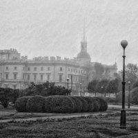 Михайловский замок,Марсово поле :: Игорь Свет