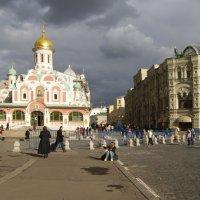 вид на Никольскую улицу :: Анна Воробьева