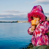 Чай на берегу :: Наталья Батракова