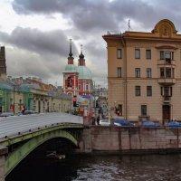 Пантелеймоновский мост :: Сергей Карачин
